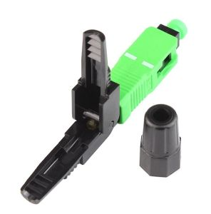 High Quality Optical Fiber Fast Connector Sc APC 0.3dB pictures & photos