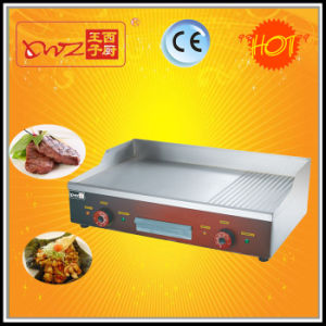 Ce Approved High Quality Tabletop Electric Flat Griddle Griller with Cheap Price pictures & photos