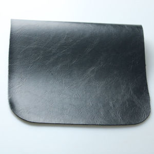 Softable Oily and Waxy Synthetic PU Leather for Furniture Belt pictures & photos