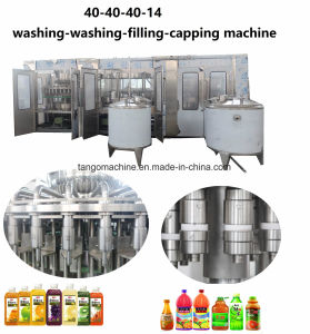 Complete Turn-Key Fruit Juice Beverage Processing Aseptic Filling Line for 500ml 1000ml 1500ml 2000ml pictures & photos