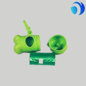 HDPE Plastic Pet Waste Bag Biodegradable Dog Poop Roll Bag pictures & photos