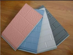 Insulation PU Foam Exterior Wall Panel pictures & photos