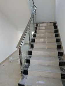 Building Material Stainless Steel and Glass Handrail pictures & photos