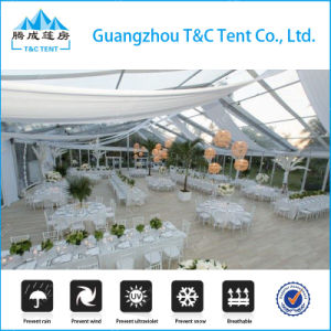 Guangzhou 25X50m 1000 People Wedding Tent with Ceiling pictures & photos