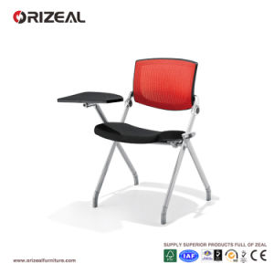 Orizeal Simple Conference Room Chair, Lecture Training Chair with Writing Pad (OZ-OCV008-3B) pictures & photos