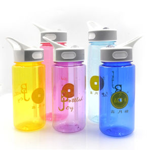 600ml tritan sport joyshaker bottle, plastic joyshaker sport water bottle, tritan water bottle joyshaker logo pictures & photos