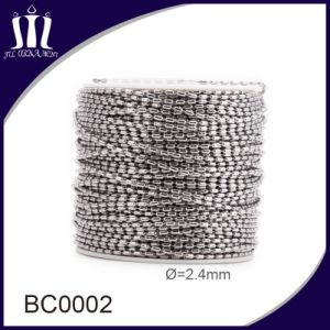 Wholesale Stainless Steel 2.4mm Bead Chain Ball Necklace pictures & photos