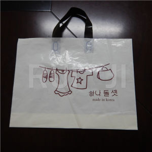 Automatic Plastic Handle Bag Making Machinery pictures & photos