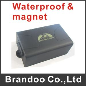 Waterproof Vehicle Car GPS GSM Tracker 104 with Built-in Battery Powerful Magnet Alarm Anti-Theft Rastreador From Brandoo pictures & photos