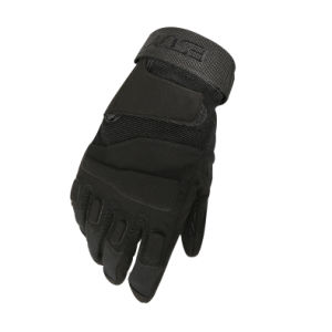 Esdy Full Finger Tactical Airsoft Military Hunting Gloves Black pictures & photos