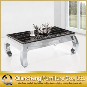 2015 High Quality Marble Top Coffee Table pictures & photos