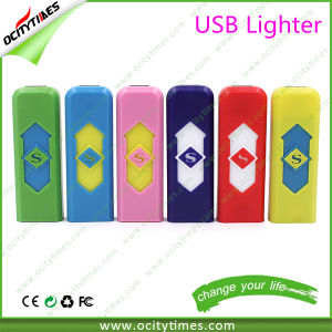 Most Popular Cigarette Rechargeable USB Lighter with USB Lighter Case pictures & photos