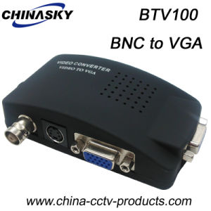 CCTV BNC to VGA Video Converter with Ce Approval (BTV100) pictures & photos