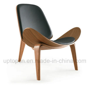 Plywood Leather Lounge Hans Wegner Shell Chair (SP-BC468) pictures & photos