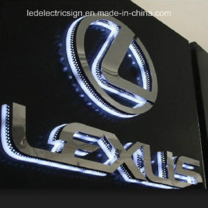 Outdoor Highlight Stainless Steel Waterproof LED Luminous Characters pictures & photos