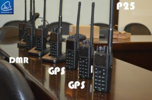 VHF/UHF Digital &Analog Portable Radio with FCC, Ce, IC Certification pictures & photos