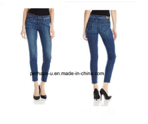 Ladies Sexy Skinny Jeans (PHS-LD-H002) pictures & photos
