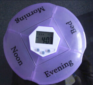 Promotional Portable Medication Pill Box Alarm pictures & photos