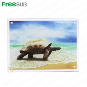 Freesub Blank Sublimation Coated Thick Glass Photo Frame (BL-13) pictures & photos