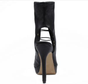 Fashion Lady Dress Shoes Ankle Boots for Women (Hcy02-058) pictures & photos