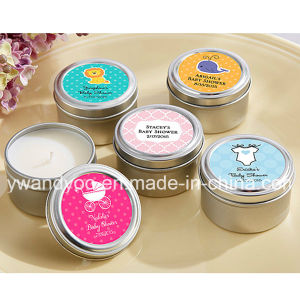 Scented Soy Wax Decorative Gift Candle in Tin pictures & photos