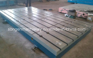 Boring Mill T-Slotted Bed Plates pictures & photos