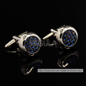 VAGULA High-End Silver Round Cufflinks pictures & photos