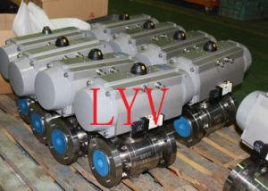 Forged Pneumatic Hard Sealing Ball Valve