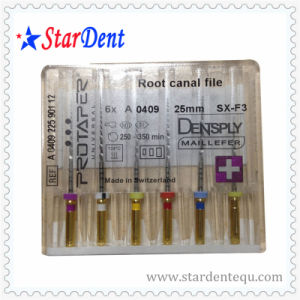 Dentsply Root Canal Protaper Files (with cross) of Dental Instrument pictures & photos