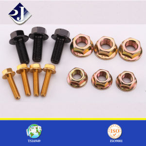 Grade 5 Hex Flange Bolt and Nut pictures & photos