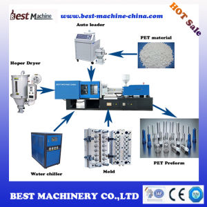 High Quality Plasic Pet Preform Injection Moulding Making Machine Manufacturer in China pictures & photos
