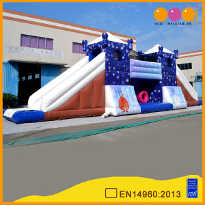 Best Quality Inflatable Tower Bridge Slide Amuusement (aq01144-1) pictures & photos
