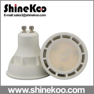 Aluminium Plastic SMD GU10 E27 5W LED Spotlight pictures & photos