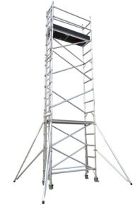 Aluminum Folding Scaffolding with Wheels
