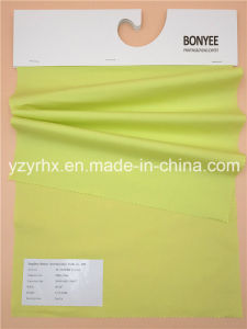 Finished Fabric Cotton Spandex Yellow Poplin pictures & photos