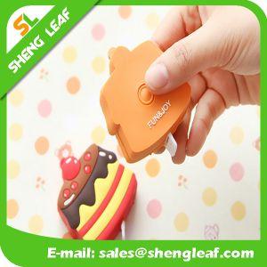 Speical Carton Shape Rubber Cover Measurements Ruler (SLF-RR002) pictures & photos