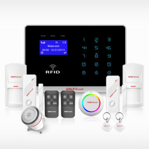 Factory! Voice RFID Wireless GSM Alarm for Home Security with Touch Screen pictures & photos