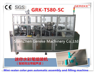 Mini-Water Color Pen Automatic Assembly and Filling Machine (with ultrasonic) pictures & photos