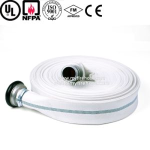 1 Inch PVC Colorful Fire Canvas Hose, Flexible Fire Fighting Wearproof Hose pictures & photos