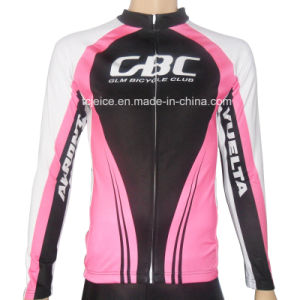 100% Polyester Customized Sublimation Print Cycling Jersey