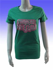 Wholesale Cheap Cotton Plain Women Long T Shirt pictures & photos
