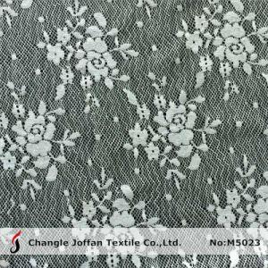 Jacquard Flower Lace Fabric for Dresses (M5023) pictures & photos
