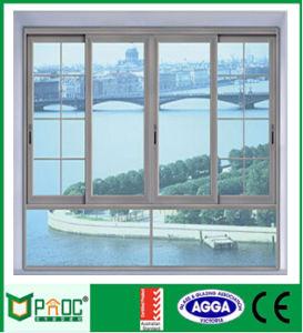 Australia Standard High Level 100f Series Aluminium Sliding Window Glass Window pictures & photos