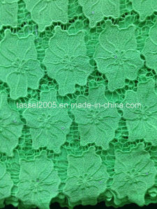Fashion Design Organza Fabric Hot Sale Embroidery Cord Lace 2015 pictures & photos