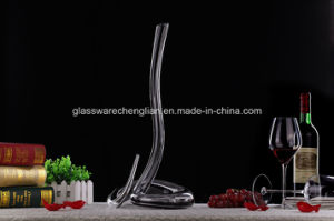 Hand Made Lead Free Artificial Design of Wine Glass Decanter (XJQ-022) pictures & photos