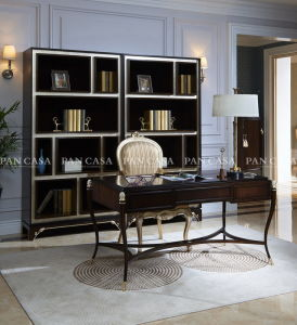 High Quality Classical Wooden Furniture Living Room Bookcase (MS-A6022)