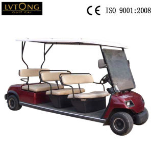 8 Passenger Electric Sightseeing Golf Car pictures & photos