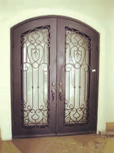 2016 Top Quality Vintage Style Entrance Double Iron Door for House pictures & photos