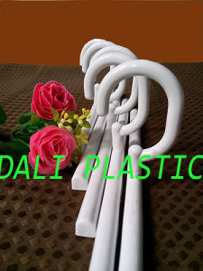 10′′ Plastic Hanger for Shower Curtain