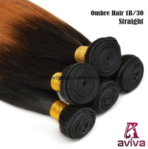 Silky Straight Wave 100% Virgin Hair Ombre Natural Virgin Hair Extension pictures & photos